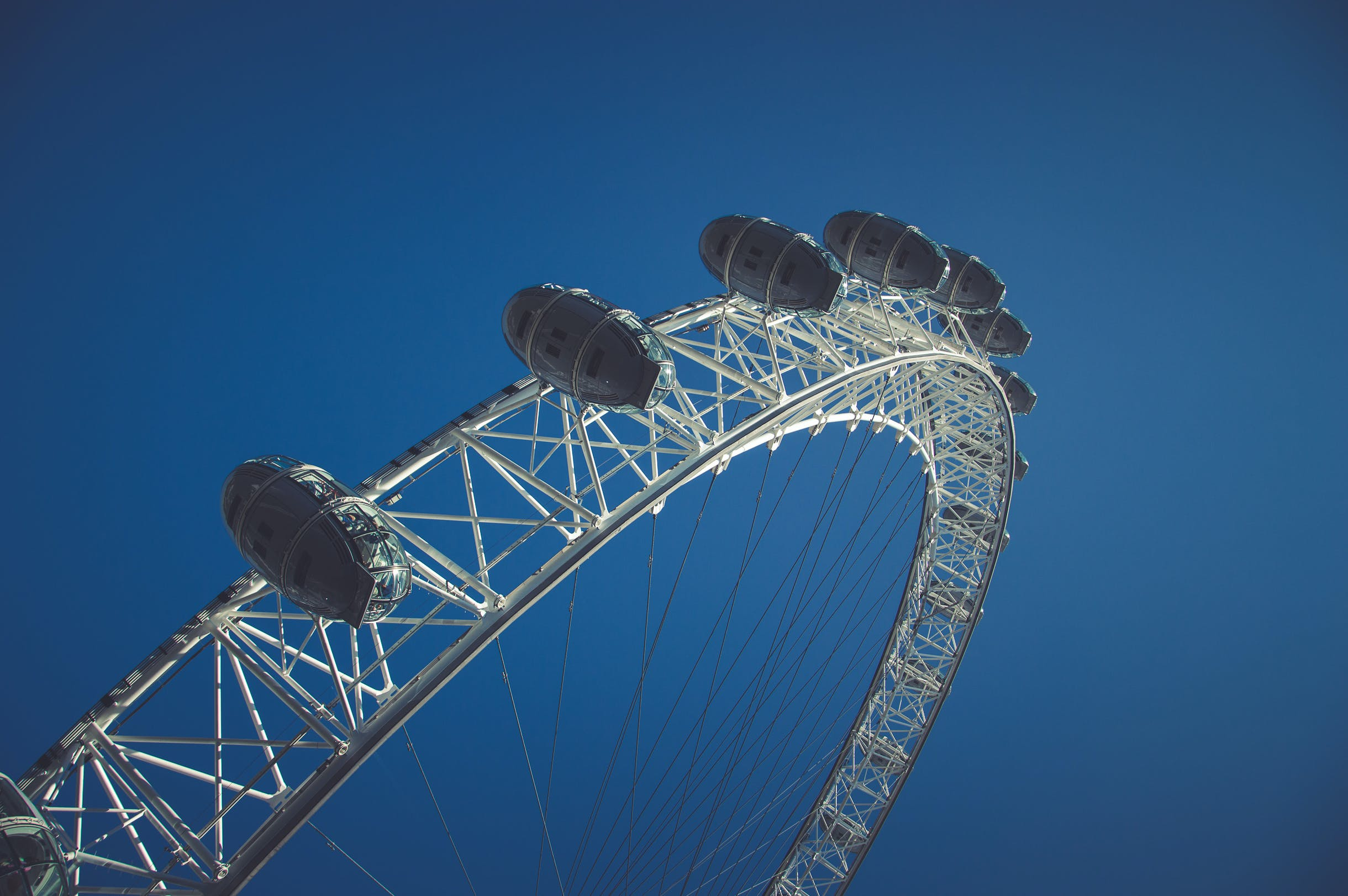 Free stock photo of blue sky, london, london eye