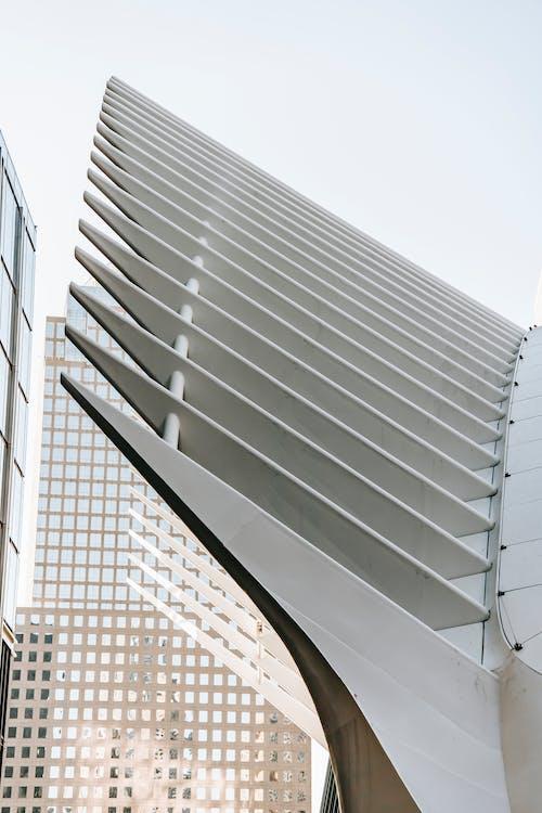Nowoczesna Geometryczna Fasada Biurowca