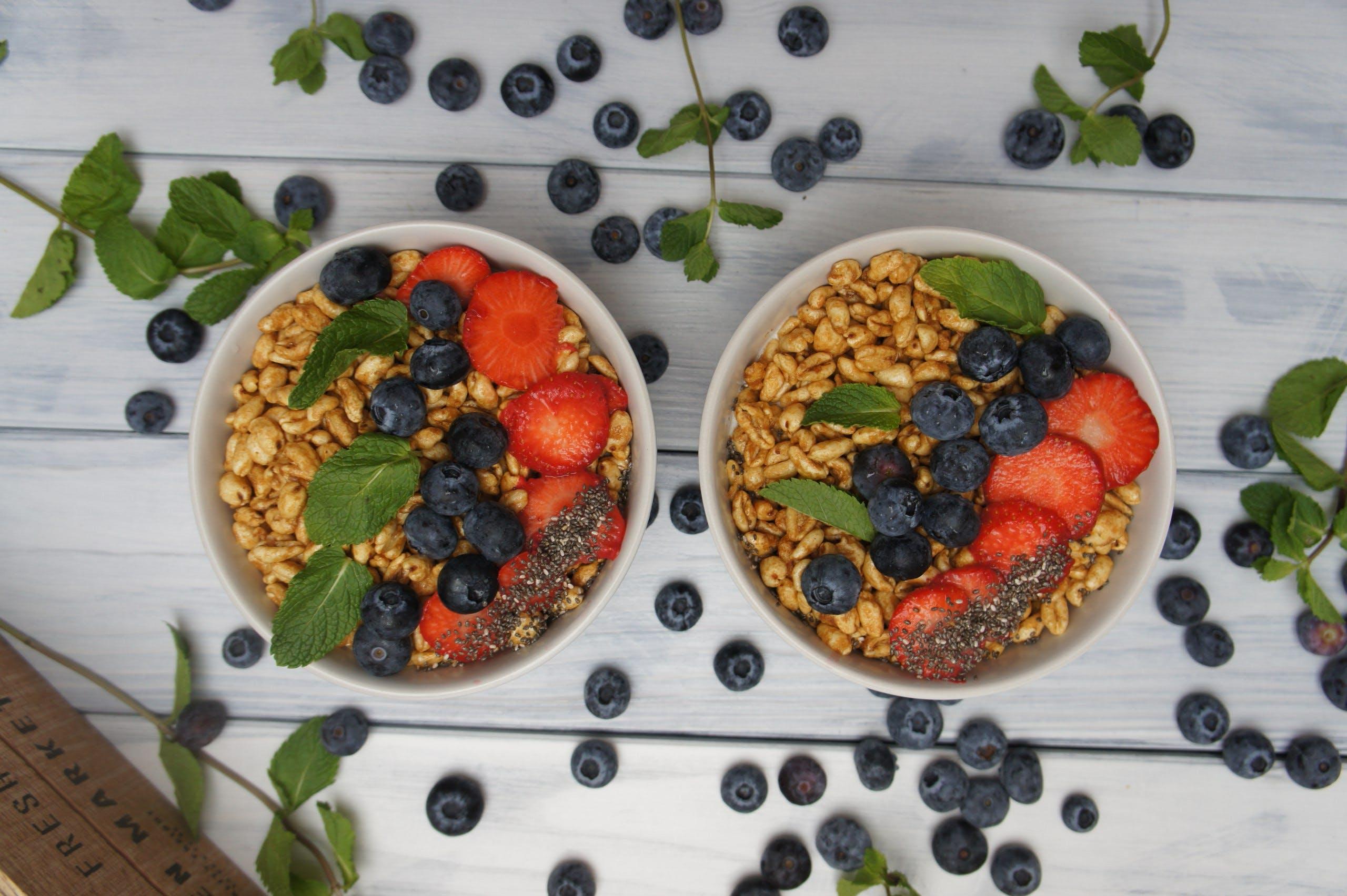 Free stock photo of berries, berry, flatlay, food