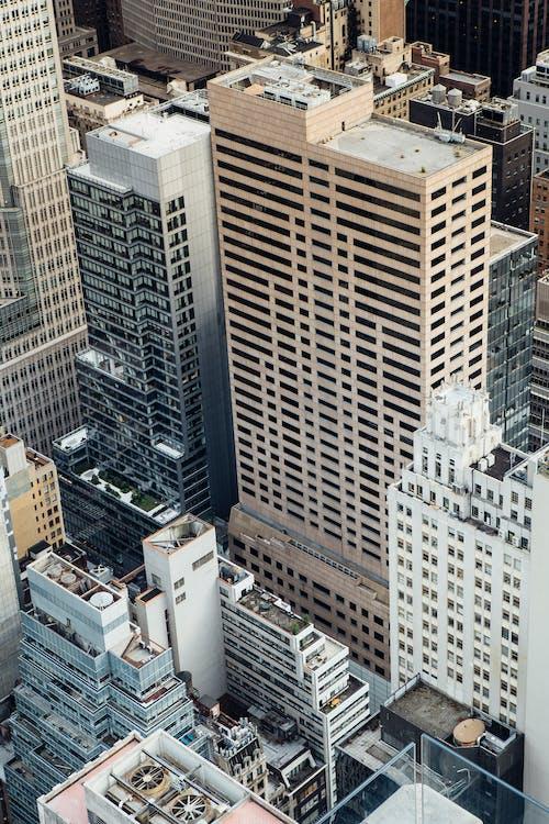Hochhäuser In Der Modernen Stadt