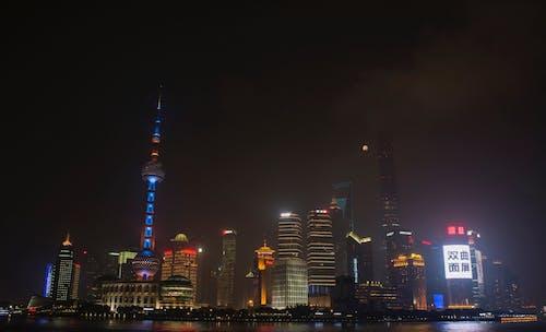 Free stock photo of shanghai skyline