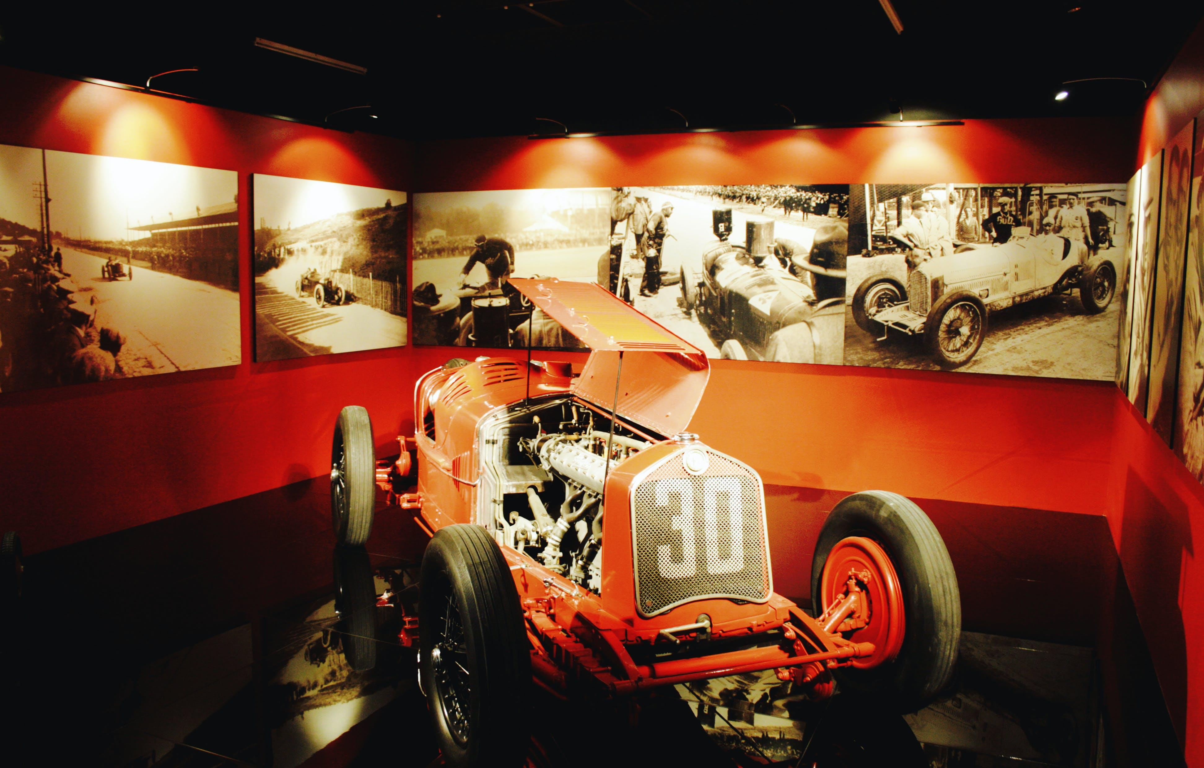 Free stock photo of automotive, car, car museum, exhibition