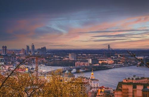 城市, 城鎮, 天際線, 市中心 的 免費圖庫相片