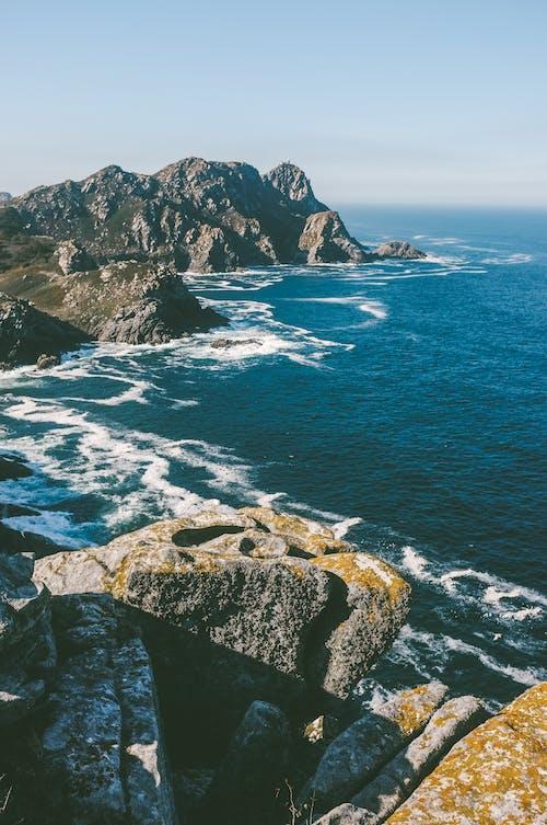 Photos gratuites de bord de mer, caillou, côte, eau