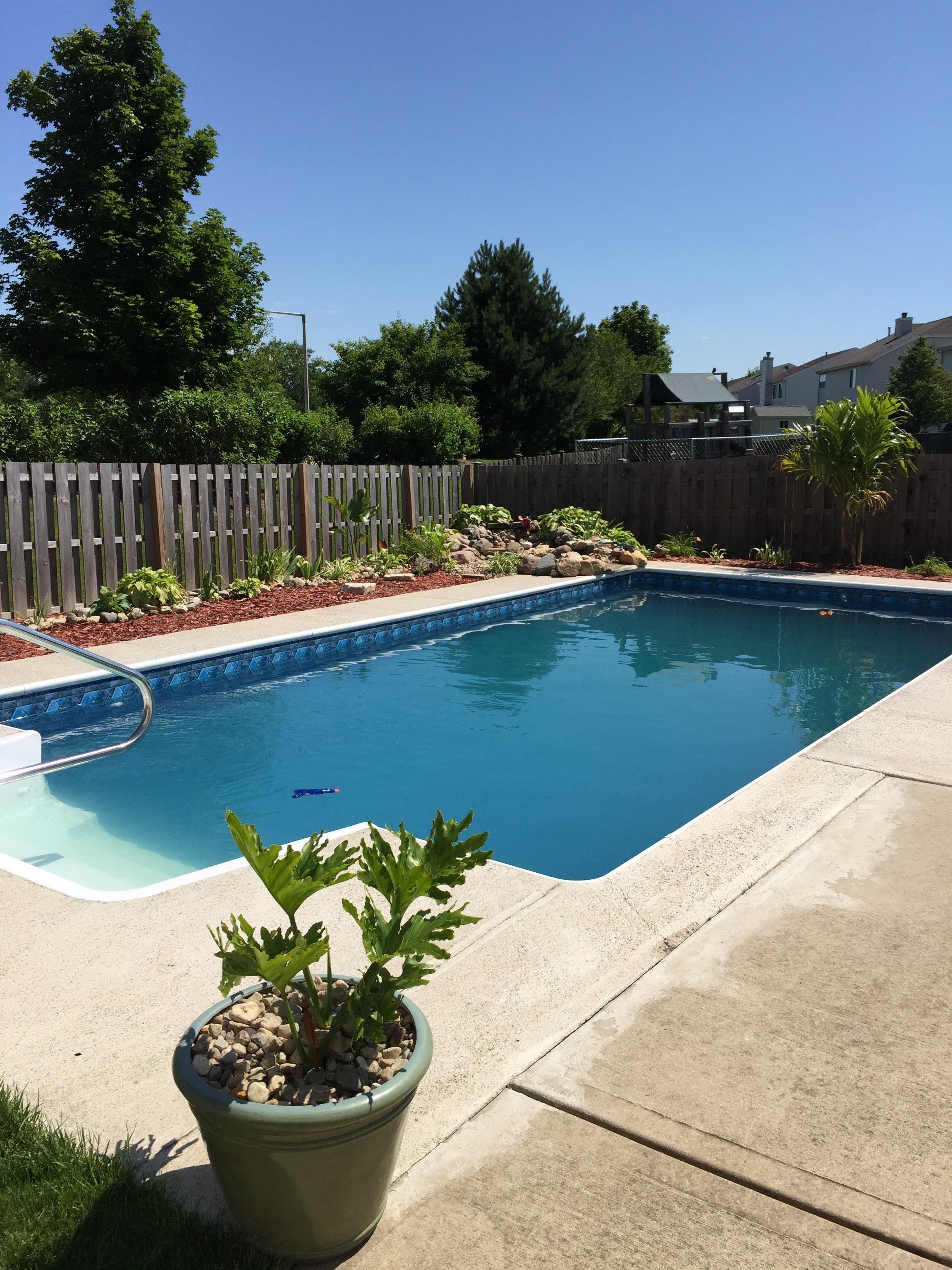 Bezaubernd Eingebauter Pool Foto Von Kostenloser Pattern