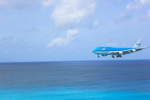 Gratis arkivbilde med blå himmel, ferie, fly, flyging