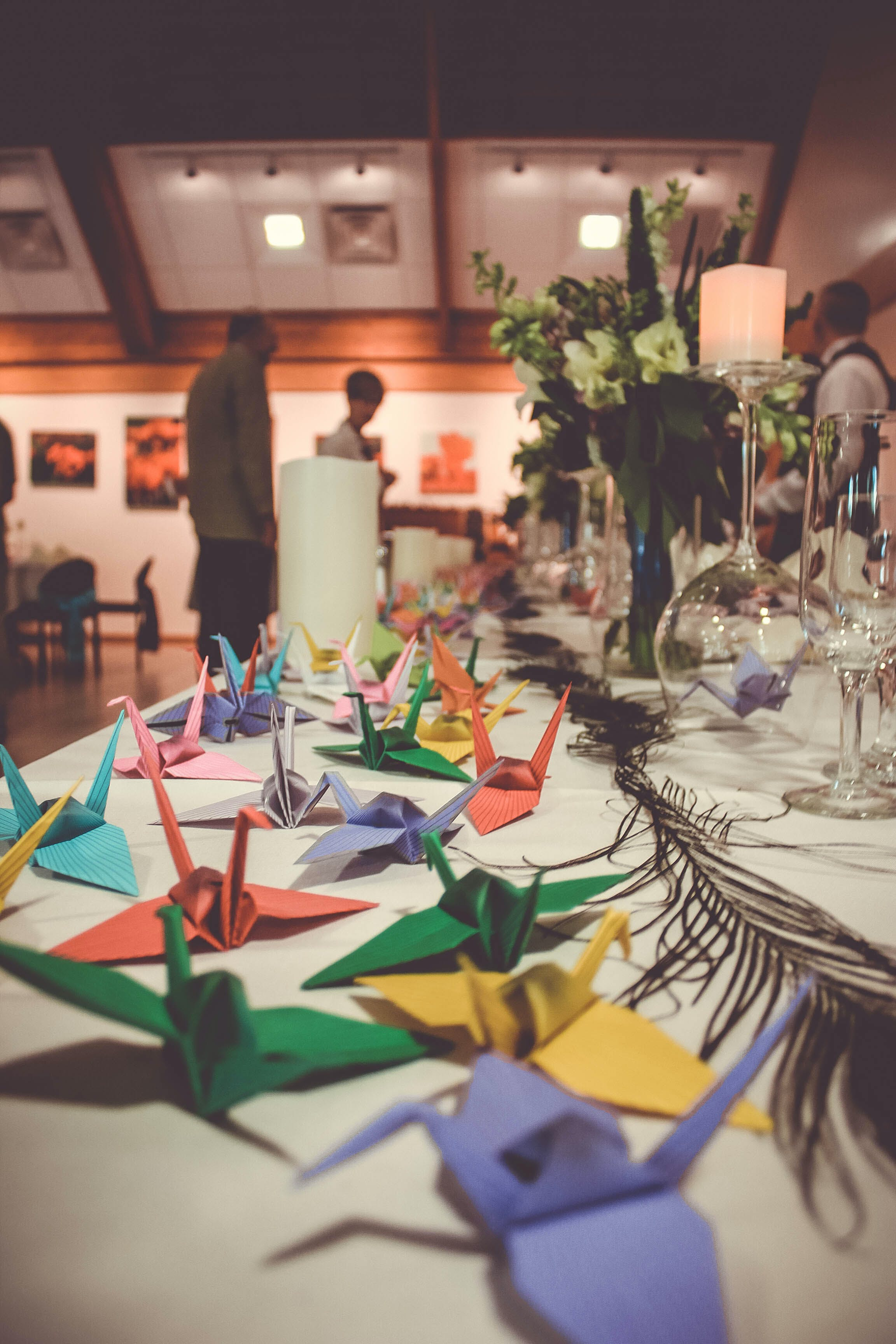 Free stock photo of center piece, centerpeice, colorful, origami