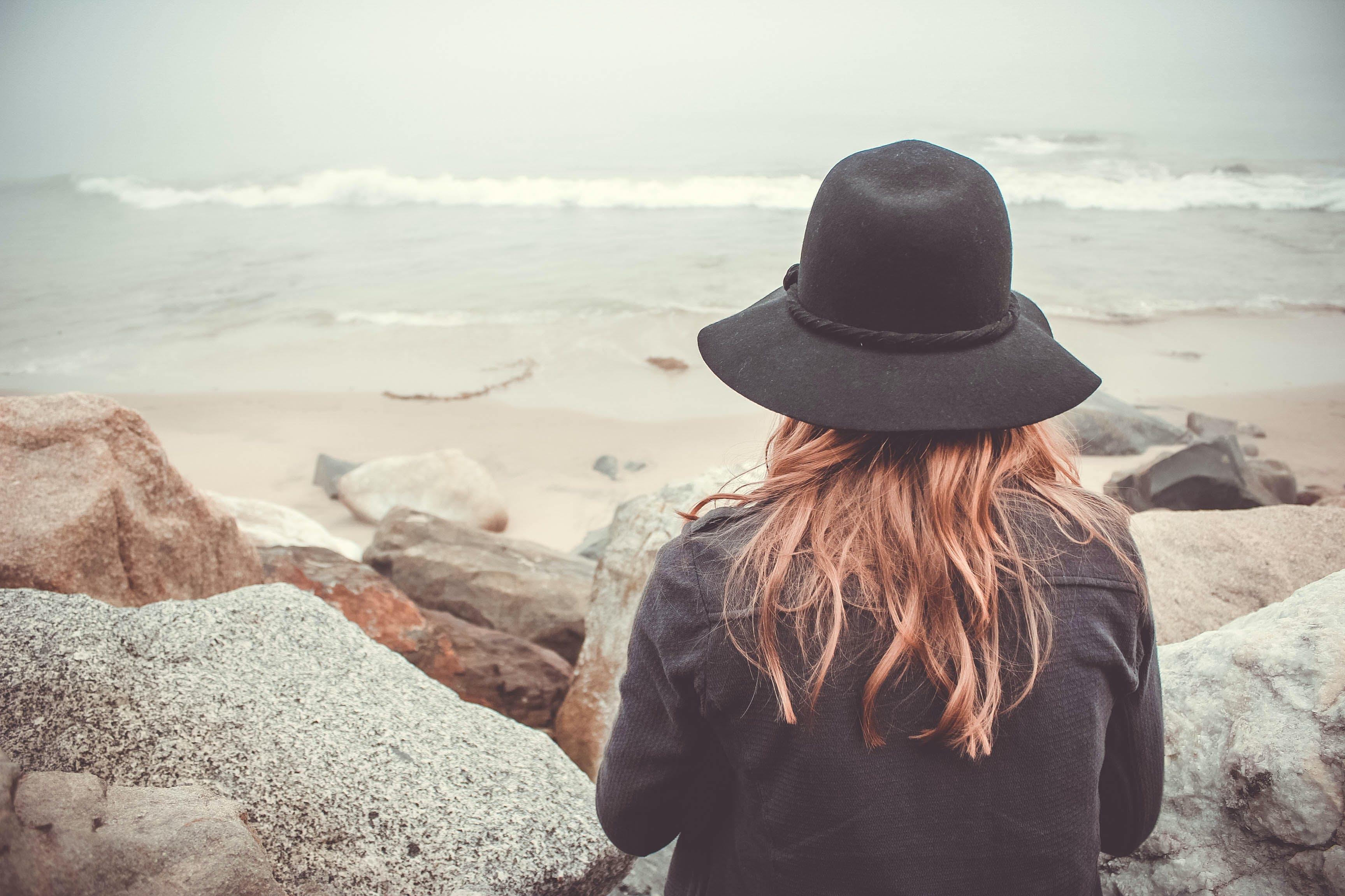 Foto stok gratis air, cewek, gadis california, gelombang