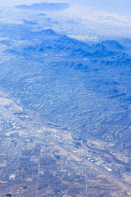 Kostnadsfri bild av antenn, bergen, flygperspektiv, från ovan