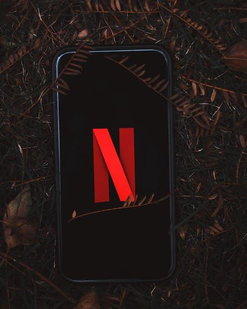 netflix公司, 智慧手機, 標誌 的 免費圖庫相片