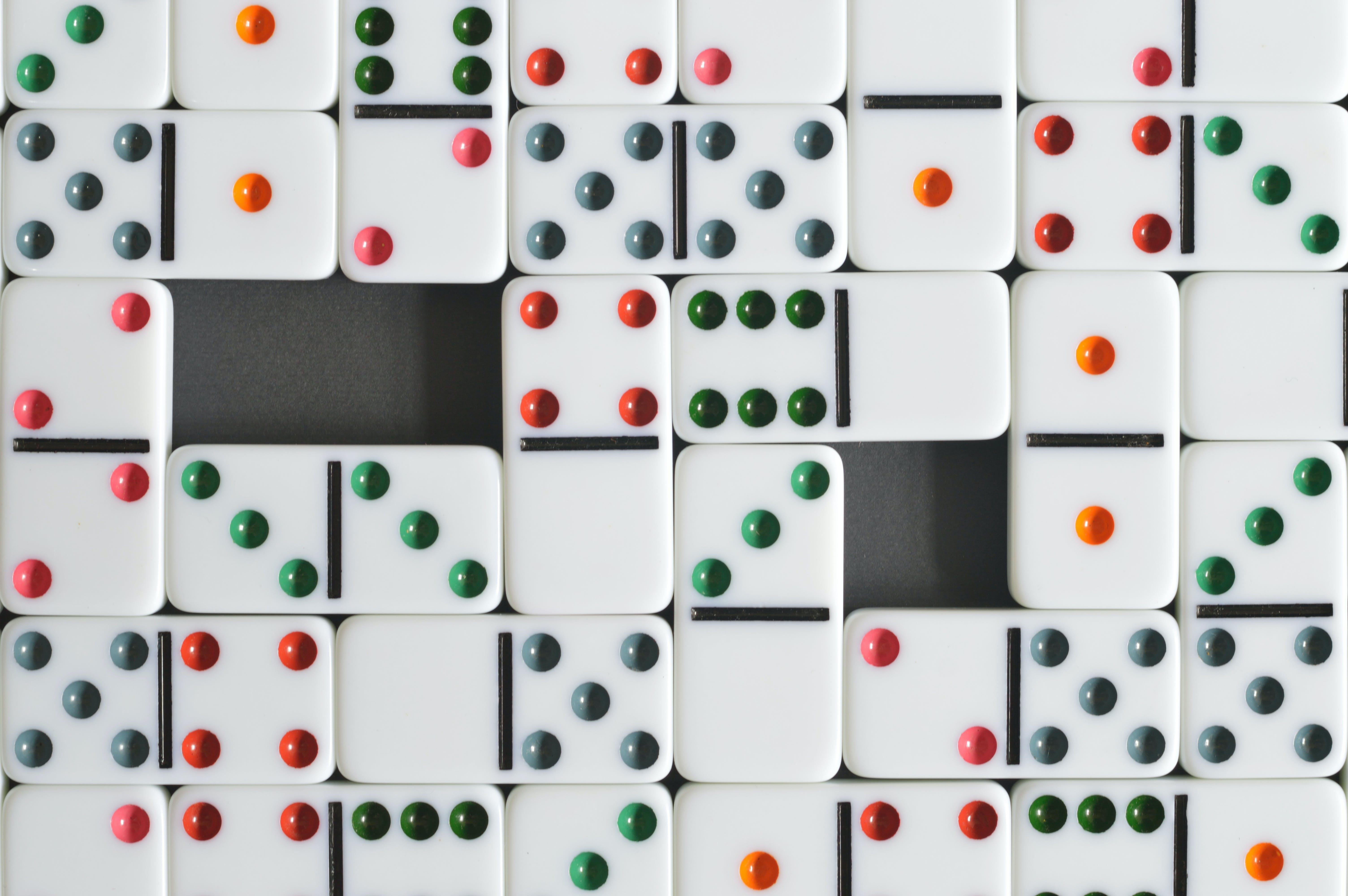 Δωρεάν στοκ φωτογραφιών με dominos, βιντεοπαιχνίδι, βούλες, διασκέδαση