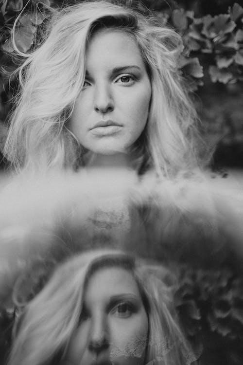 Photos gratuites de actrice, blond, bw, cheveu
