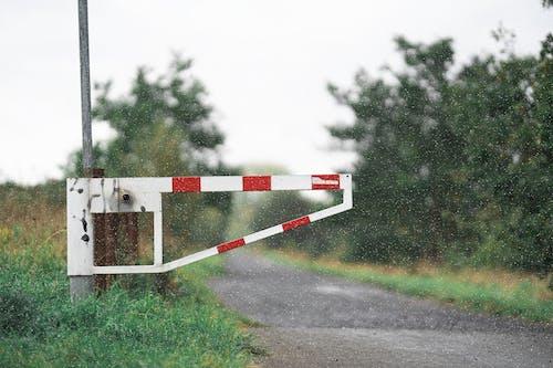 게이트, 경고, 경치의 무료 스톡 사진