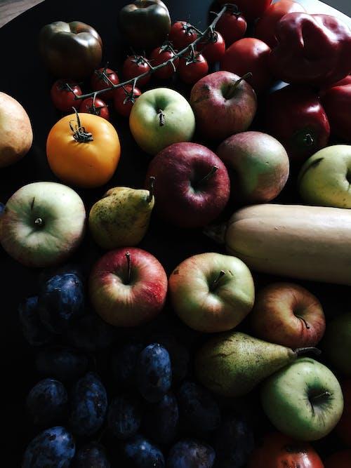 Fotos de stock gratuitas de frutas, manzanas, verduras