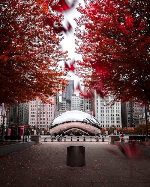 Бесплатное стоковое фото с архитектура, город, городской, дождь