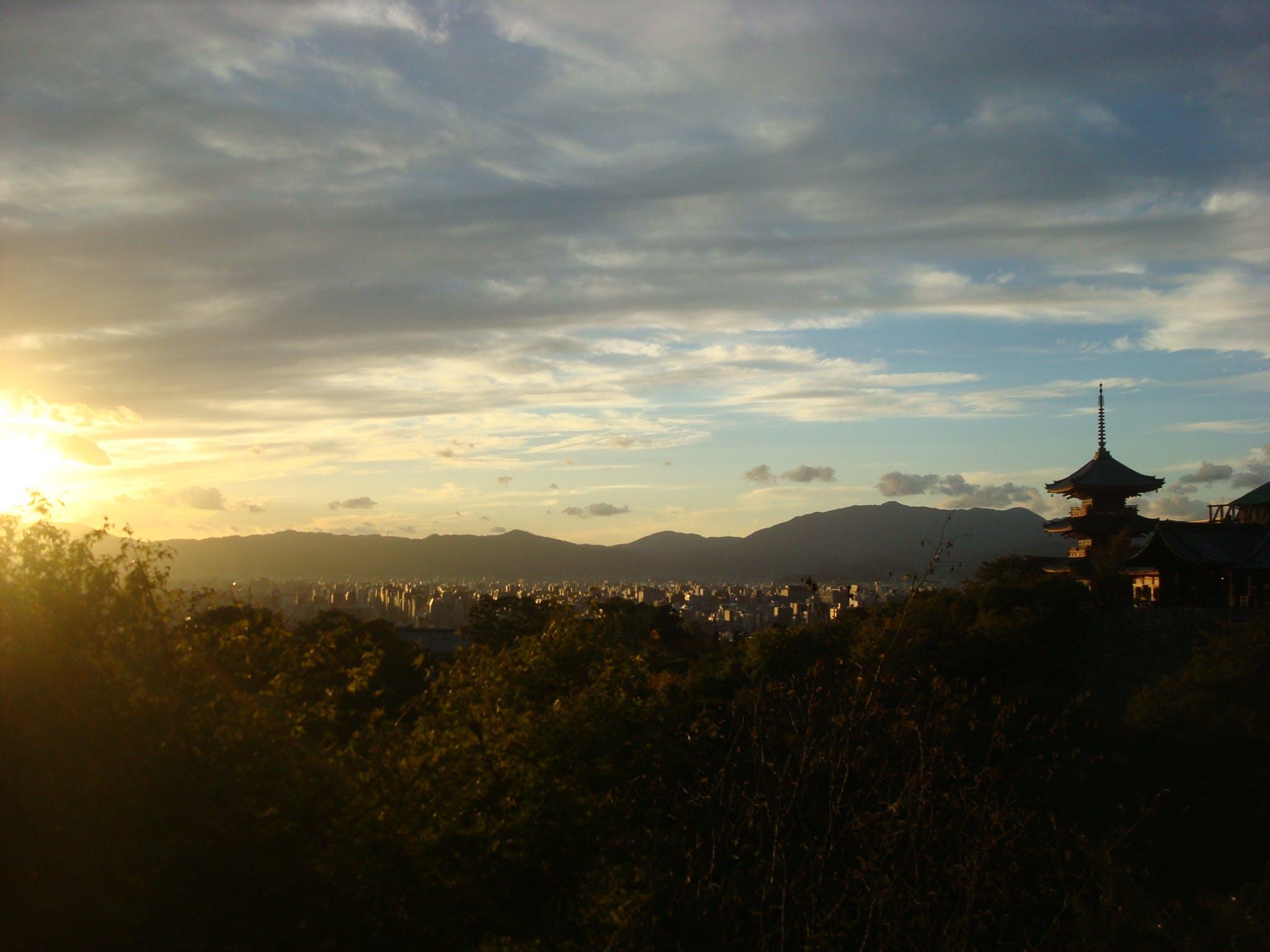 Free stock photo of city, japan, kyoto, landscape