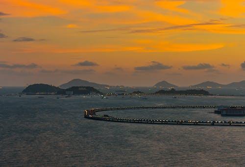 Gratis arkivbilde med vakker solnedgang