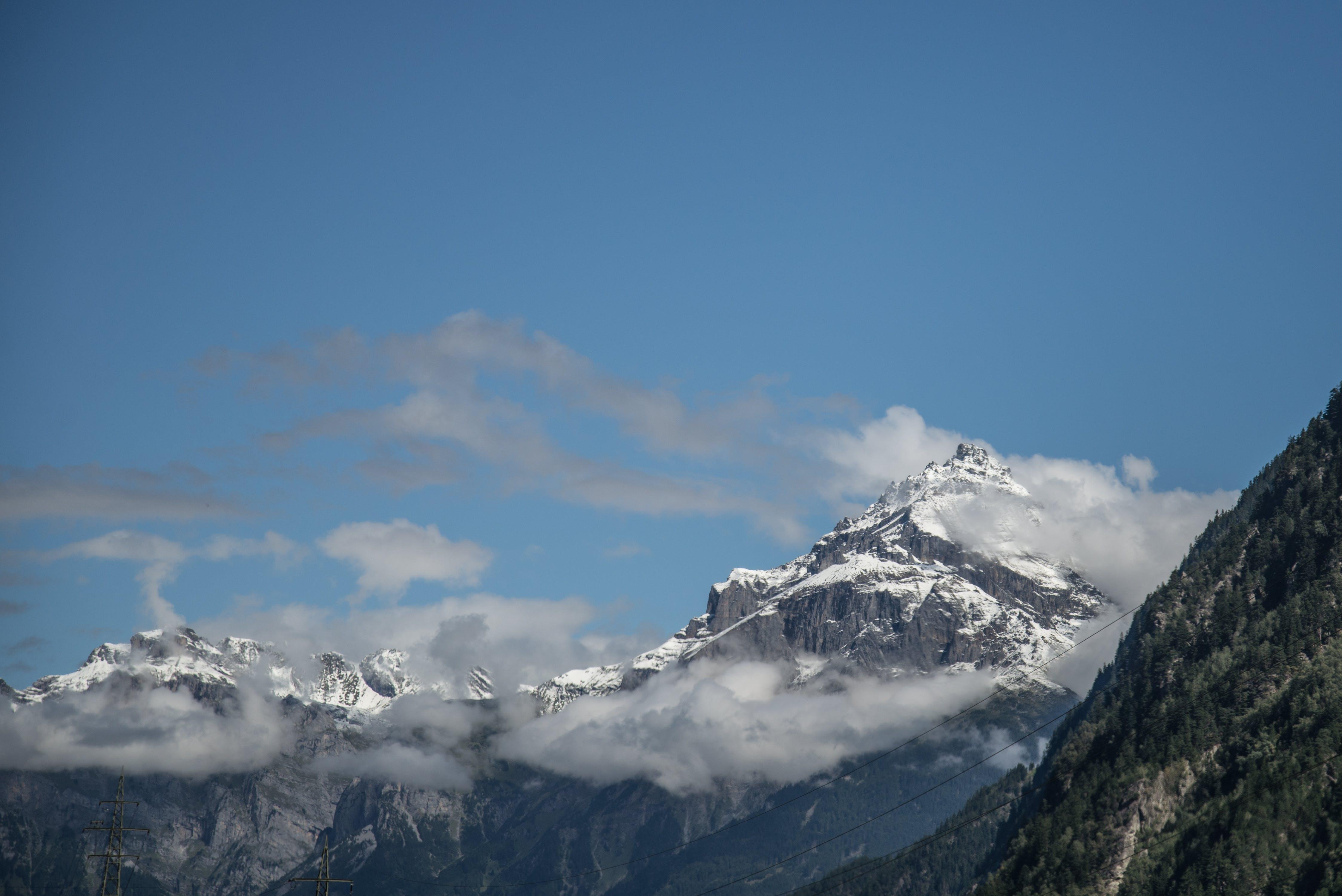 Free stock photo of snow, sky, winter, mountain