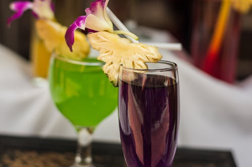 Free stock photo of alcoholic, beverages, colorful, cups