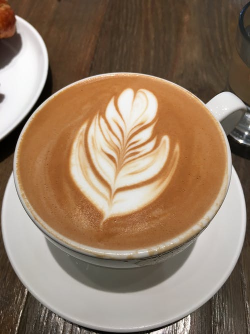 Free stock photo of cup of coffee, latte, latte art