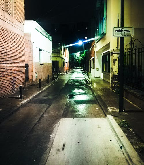 Free stock photo of city, night, street