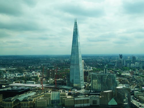 Gratis arkivbilde med london, The Shard