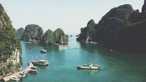 คลังภาพถ่ายฟรี ของ กระแสน้ำ, ทะเล, ทะเลสาป, ท่าเรือ