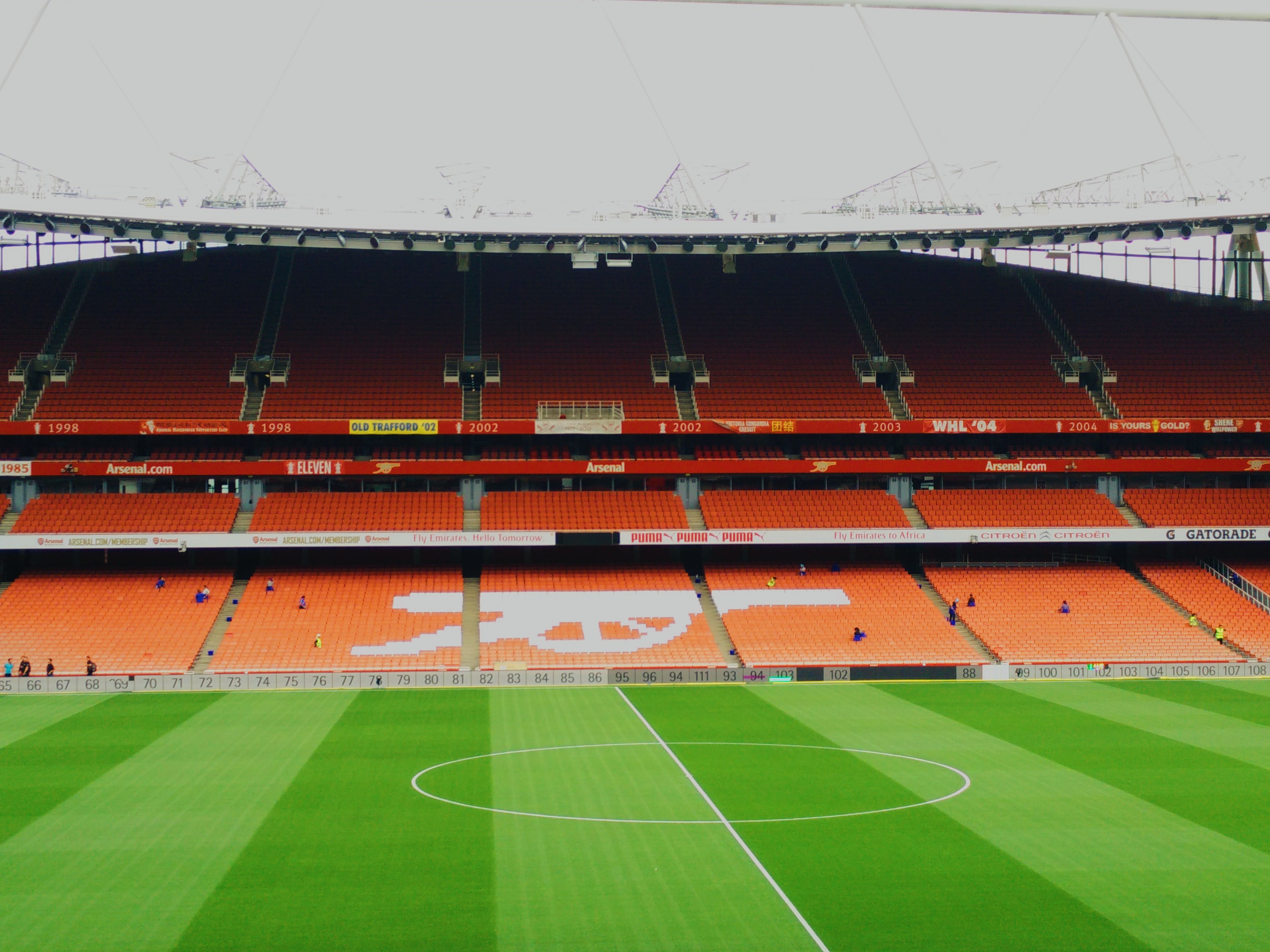 Free stock photo of Arsenal, Emirates Stadium, field, Gunners