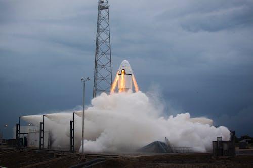 Launching Rocket Photo