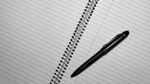 スパイラル, ノート, ノートパソコンの無料の写真素材