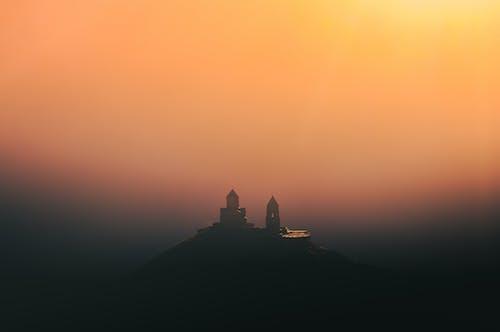 Foto d'estoc gratuïta de alba, arquitectura, art, boira