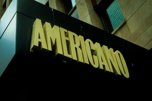 Free stock photo of americano, at a coffeeshop, black coffee, milan
