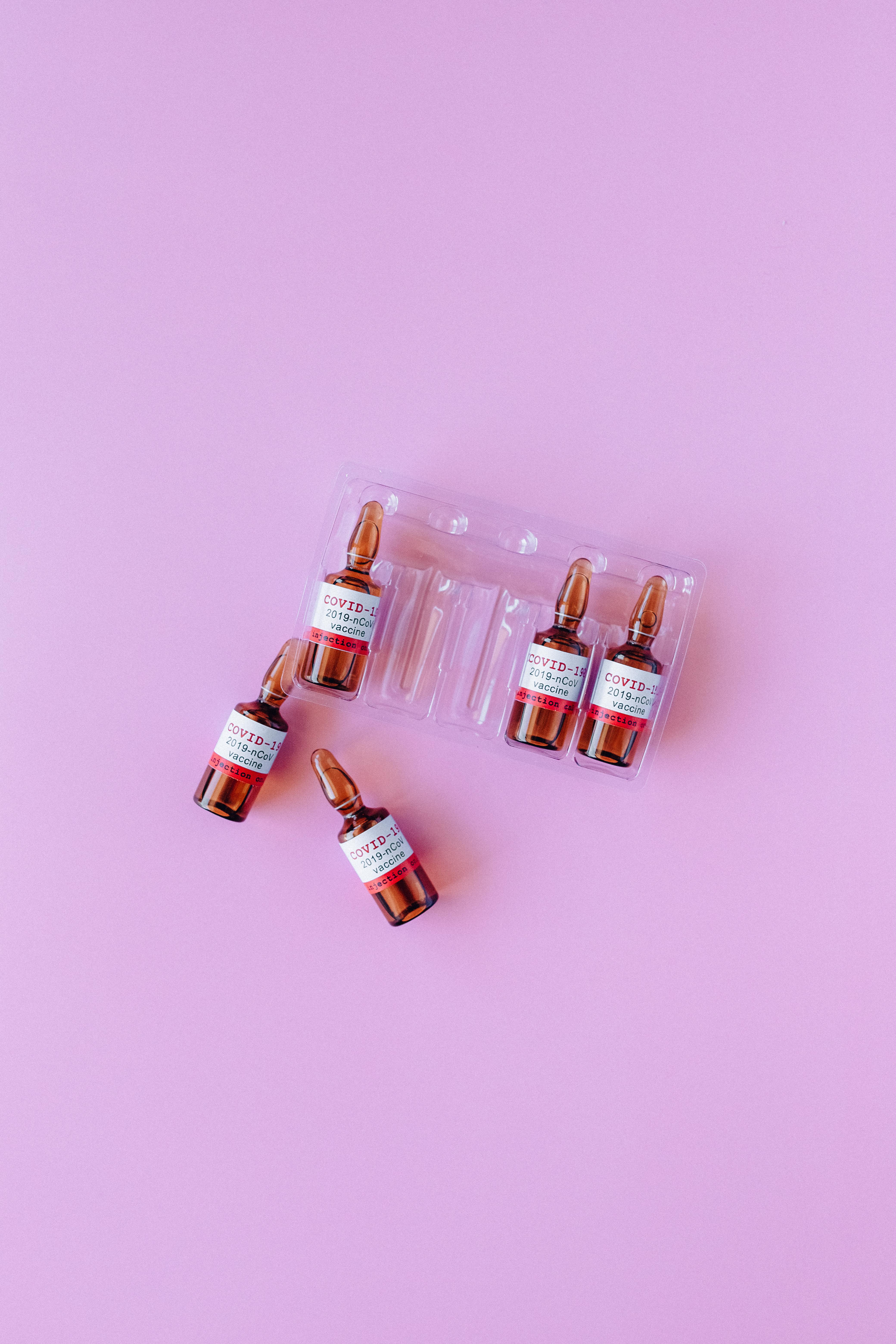 covid vaccine vials