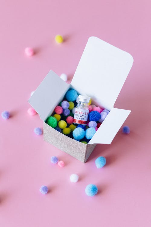Covid Vaccine in A Box