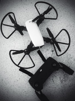 Free stock photo of hobby, drone, aerial view, spark