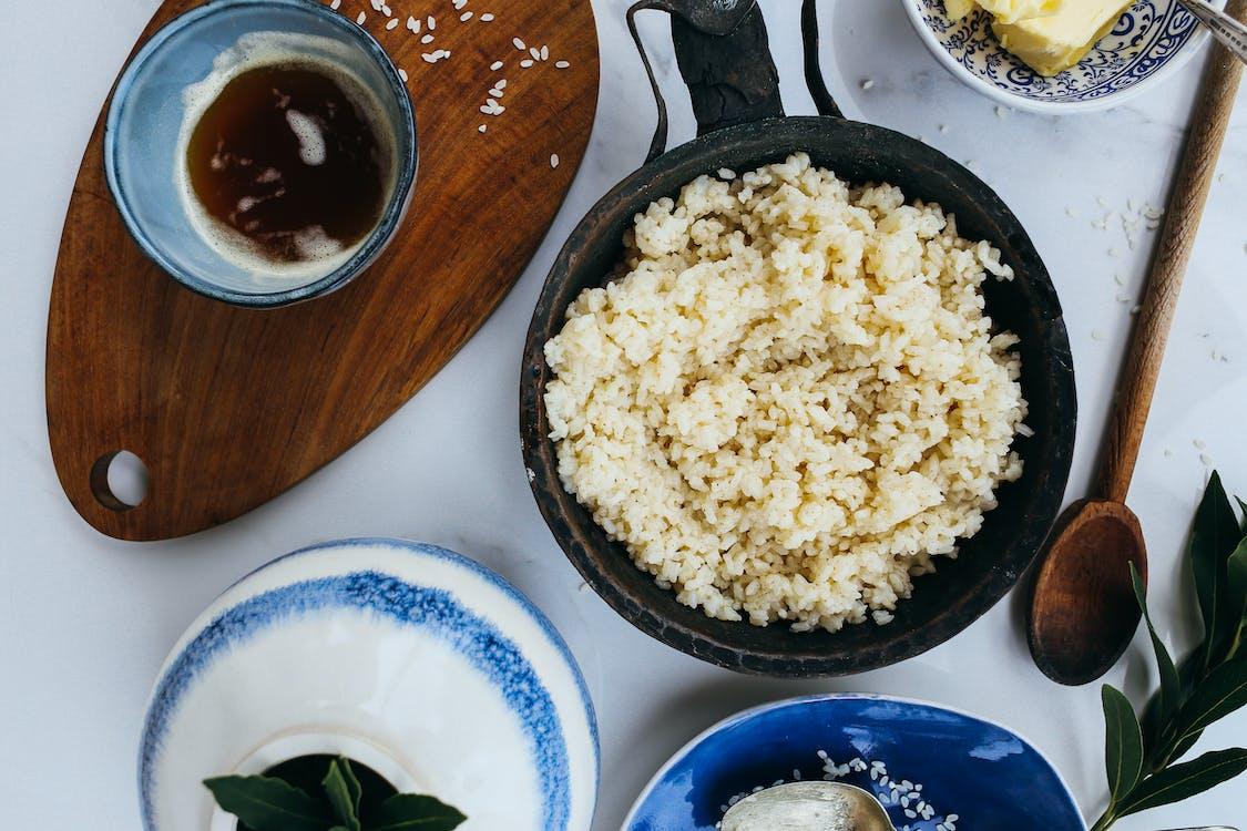 Fotos de stock gratuitas de adentro, almuerzo, arroz