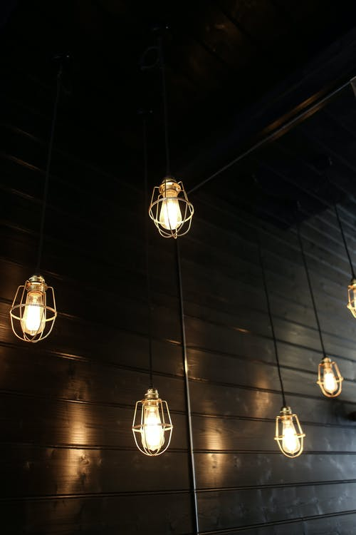 Silver and Gold Pendant Lamps