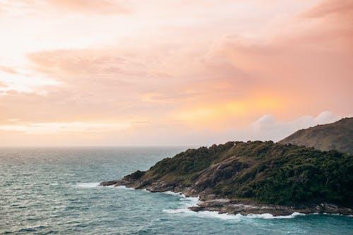 คลังภาพถ่ายฟรี ของ การถ่ายภาพธรรมชาติ, ชายฝั่งหิน, ชายหาด
