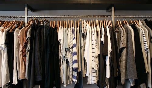 Kostenloses Stock Foto zu boutique, geschäft, hängen