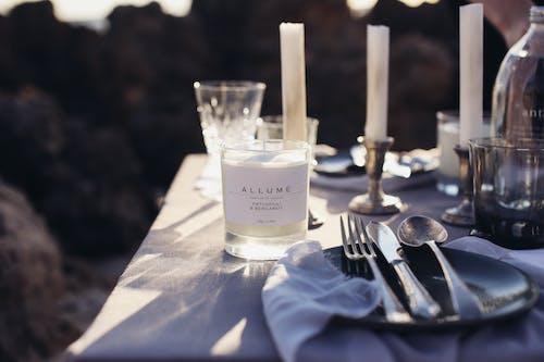 Imagine de stoc gratuită din argintărie, bifurcație, cină