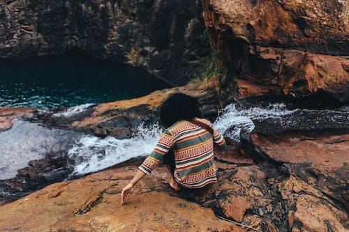 Foto stok gratis air, air mengalir, air terjun