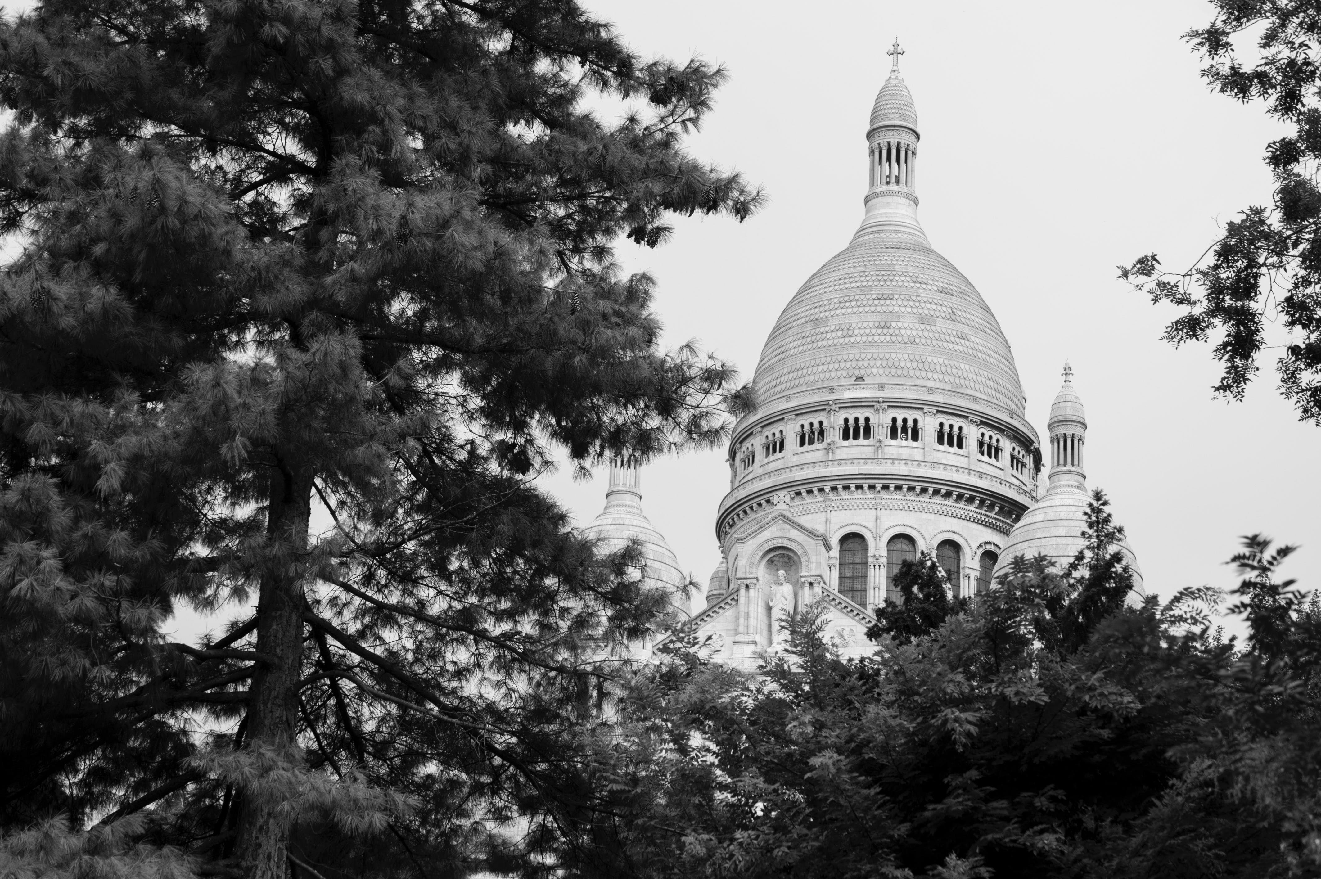 Free stock photo of Basilica of the Sacred Heart of Paris, paris