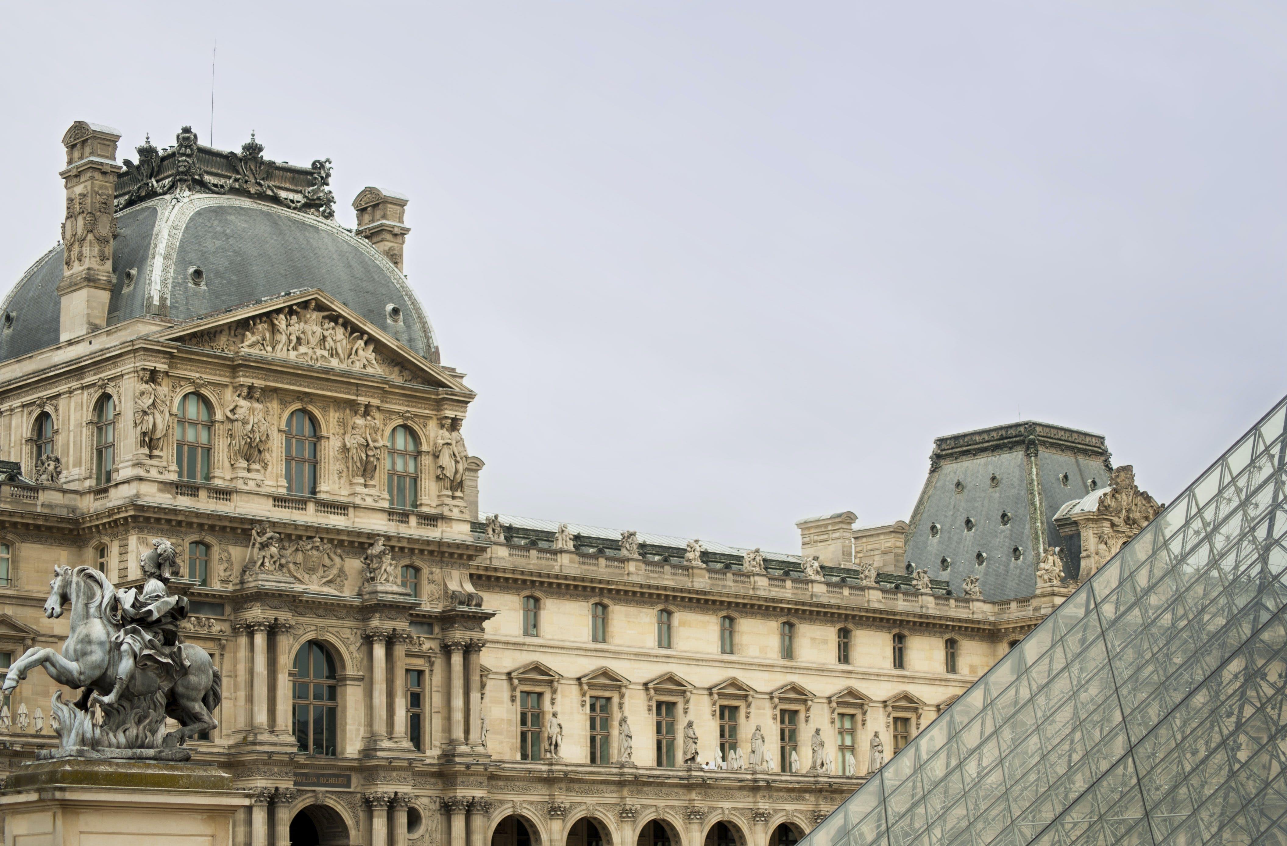 Free stock photo of louvre, paris