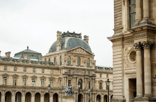 Darmowe zdjęcie z galerii z luwr, paryż