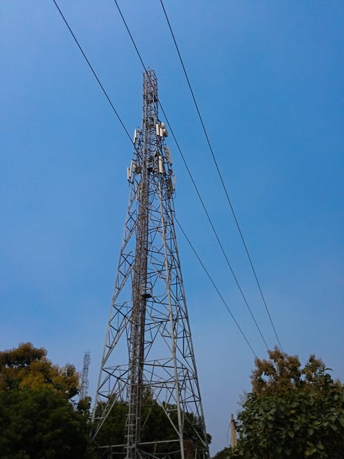 Free stock photo of aerial, cell tower, mobile tower, selective focus