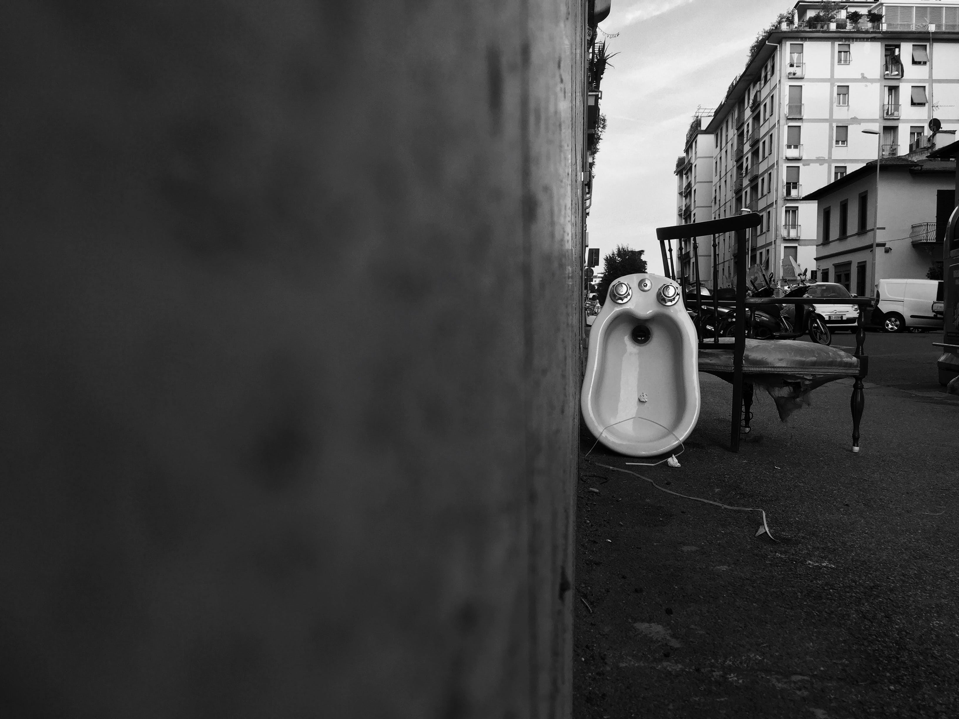 Free stock photo of city, trash, walking by the city