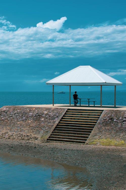 Immagine gratuita di australia, brisbane, molo, oceano