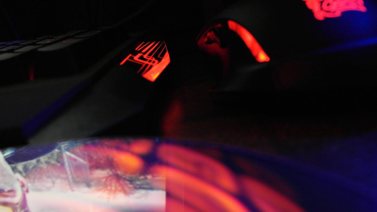 LED, キーボード, ゲーミングの無料の写真素材