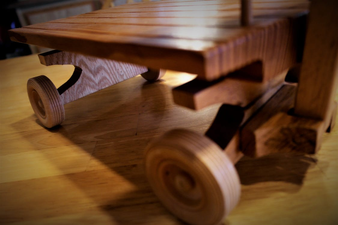 Free stock photo of handcrafted, wagon, wooden model