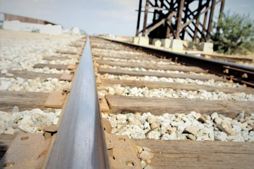 Free stock photo of industrial area, railroad tracks